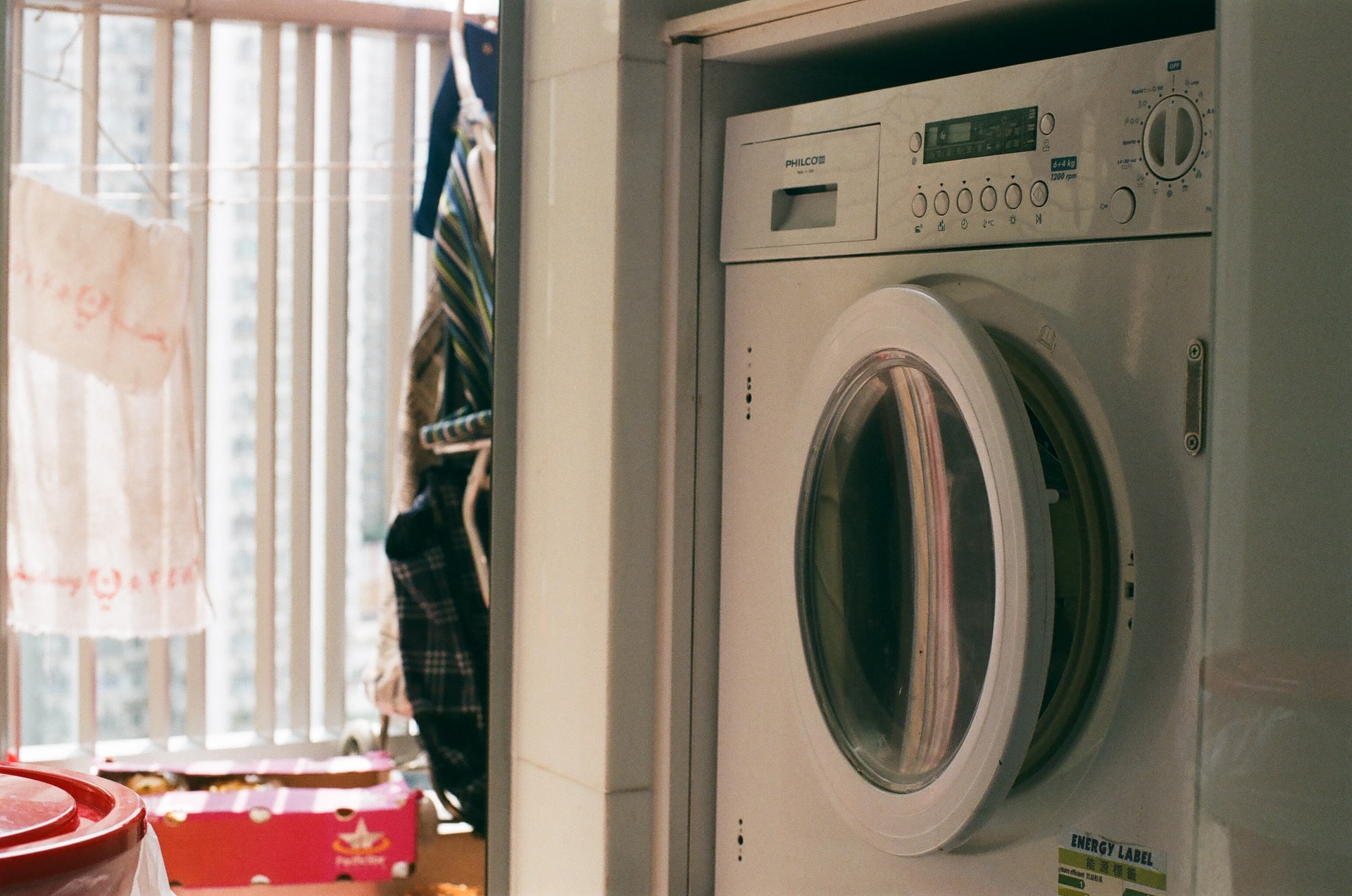 Small Laundry Space