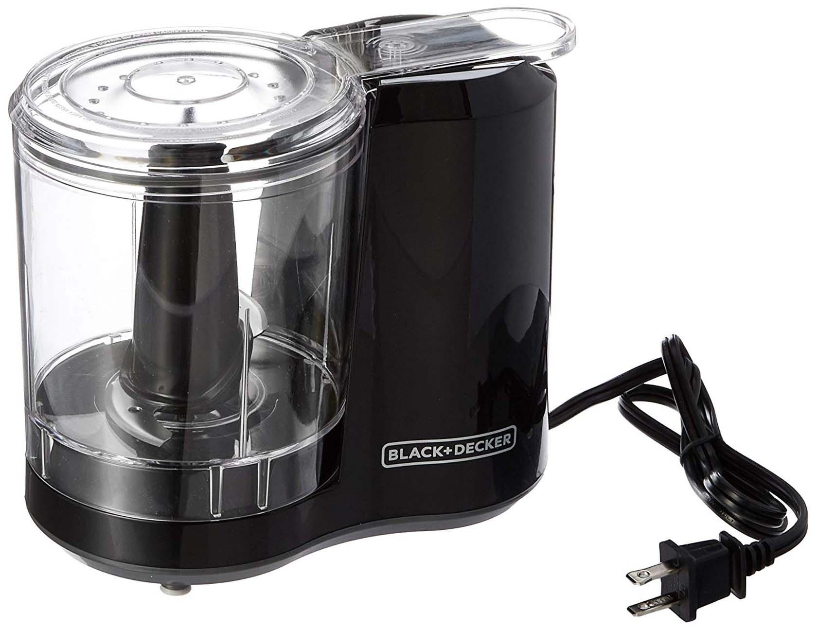 Black + Decker 3-Cup Electric Food Chopper