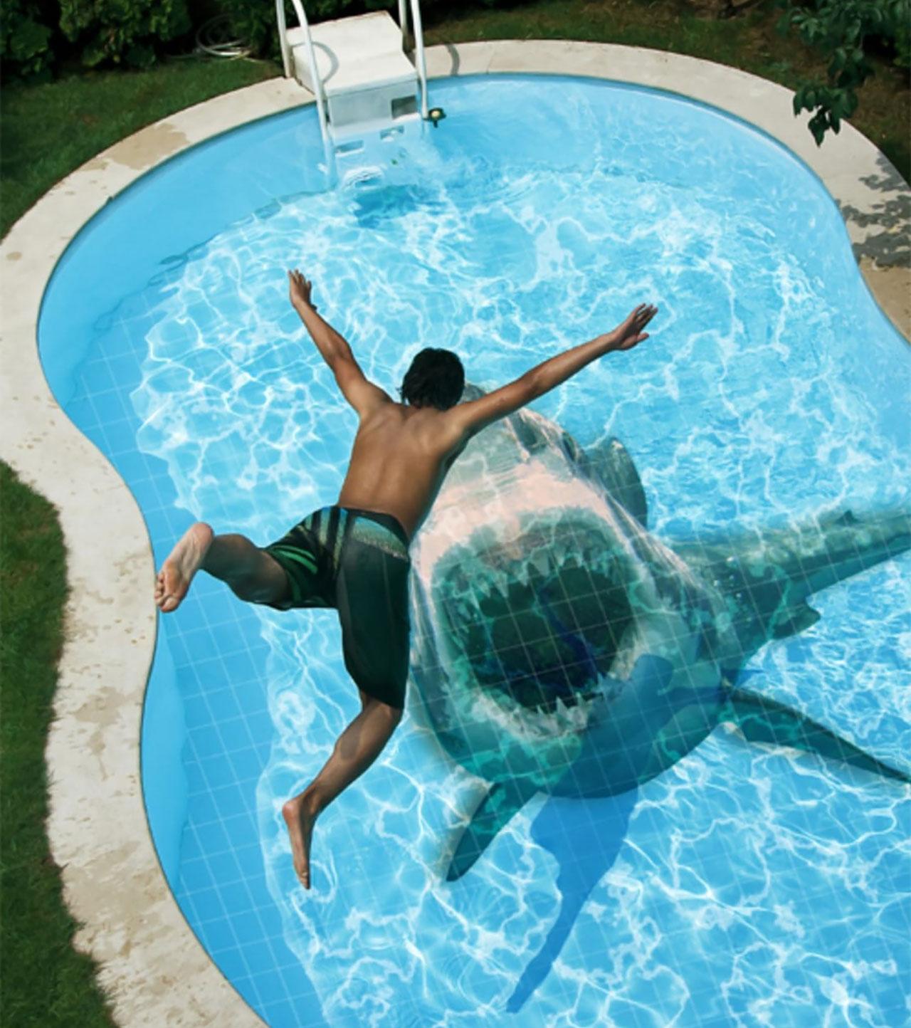 Shark Pool Tiles