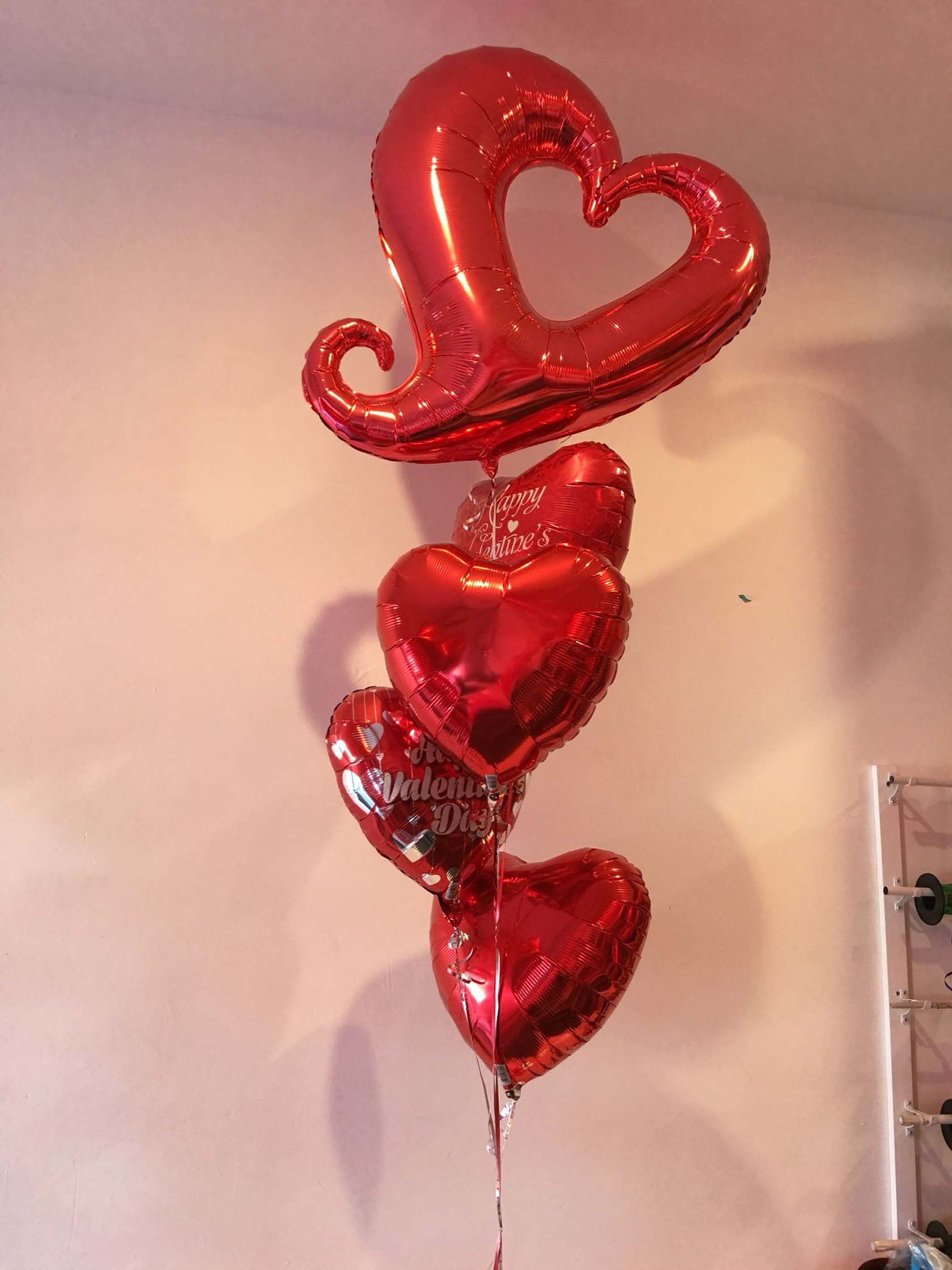 Heart-Shaped Balloon Tails