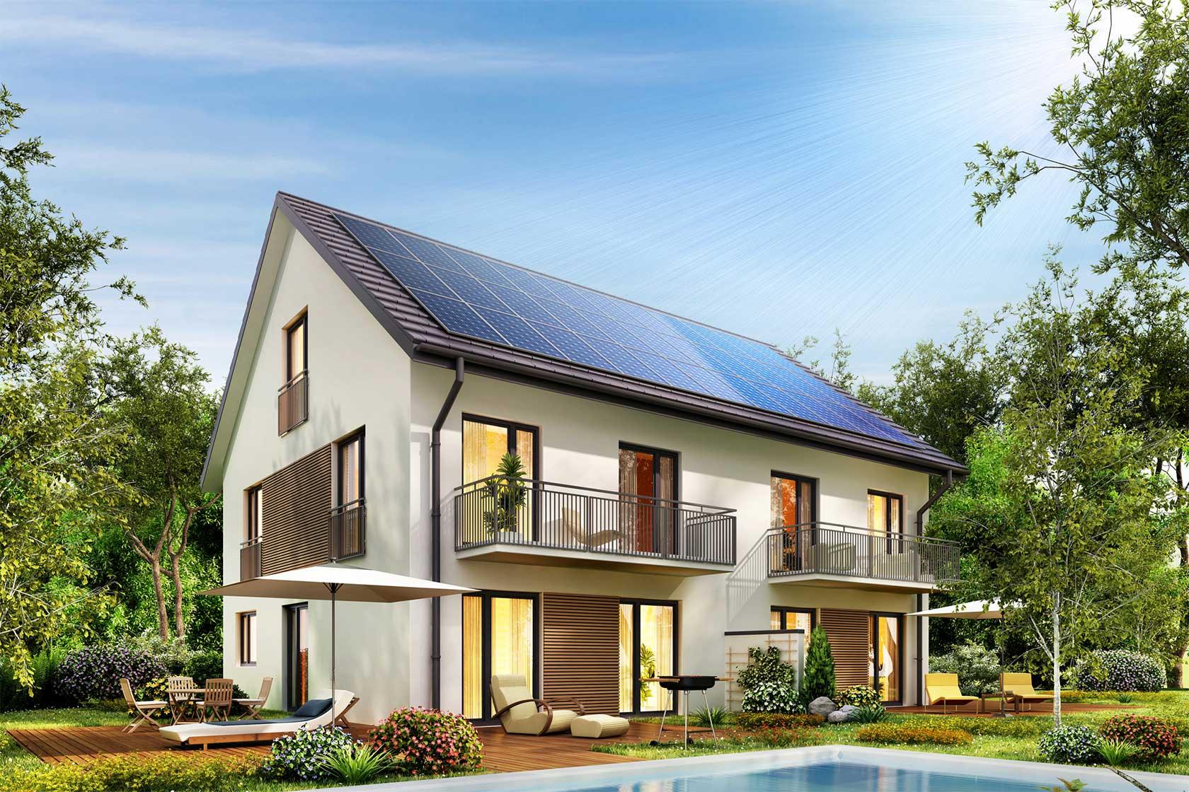 Solar Powered Home