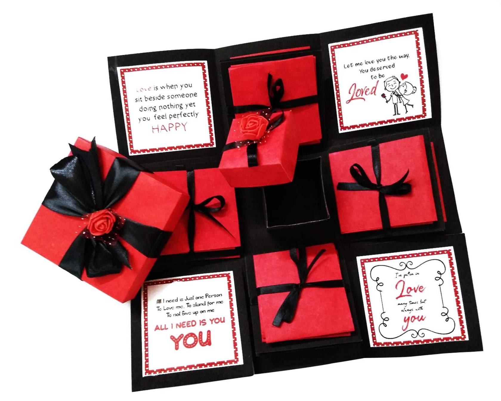 Valentines Card Display Box