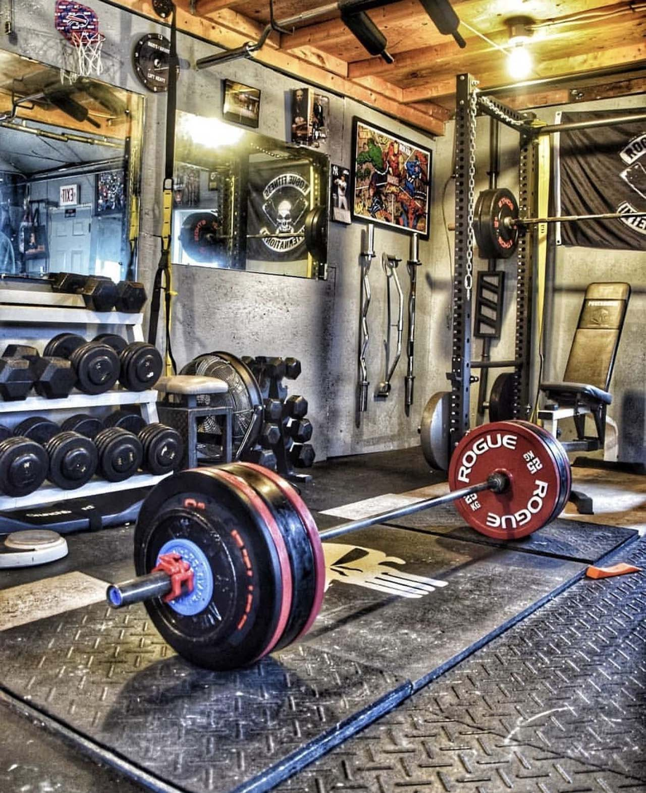 The Powerlifter Gym