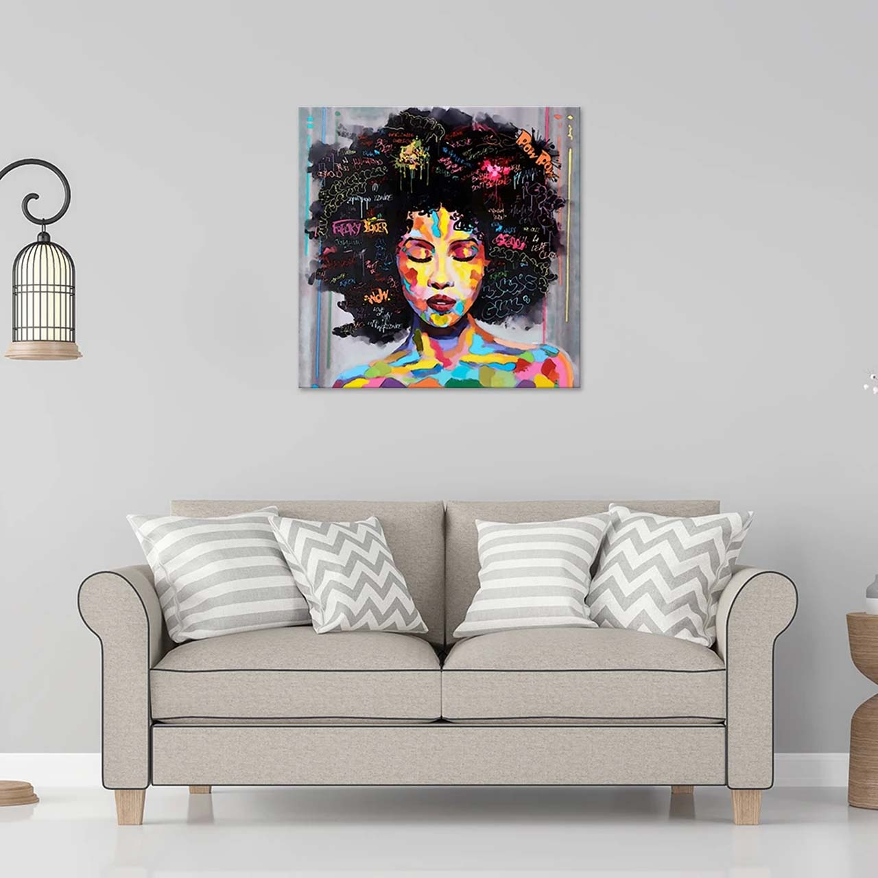 African American Canvas Paintings