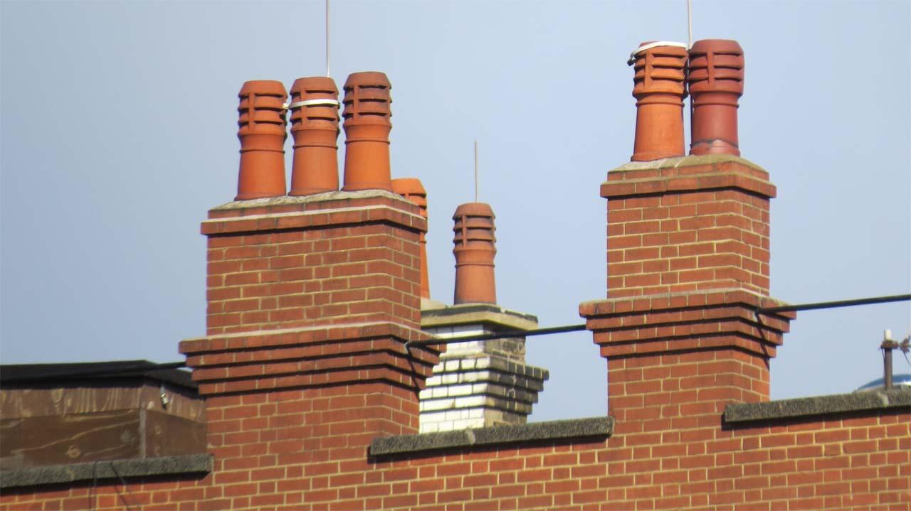 Installing Chimney Pots