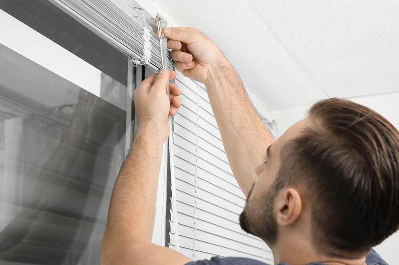 Window Blind Installation
