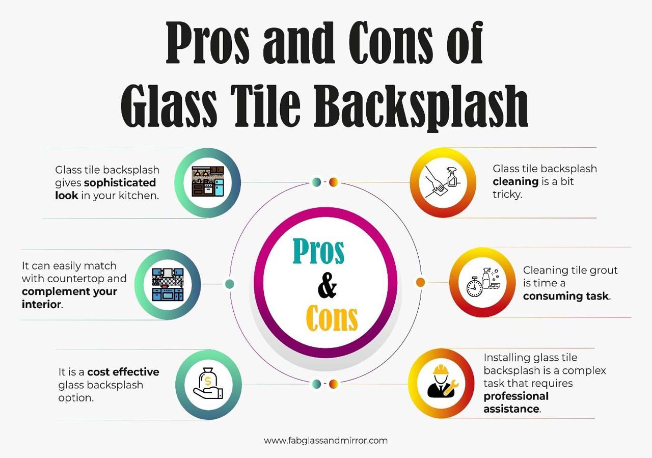 Pros And Cons Of Glass Tile Backsplash