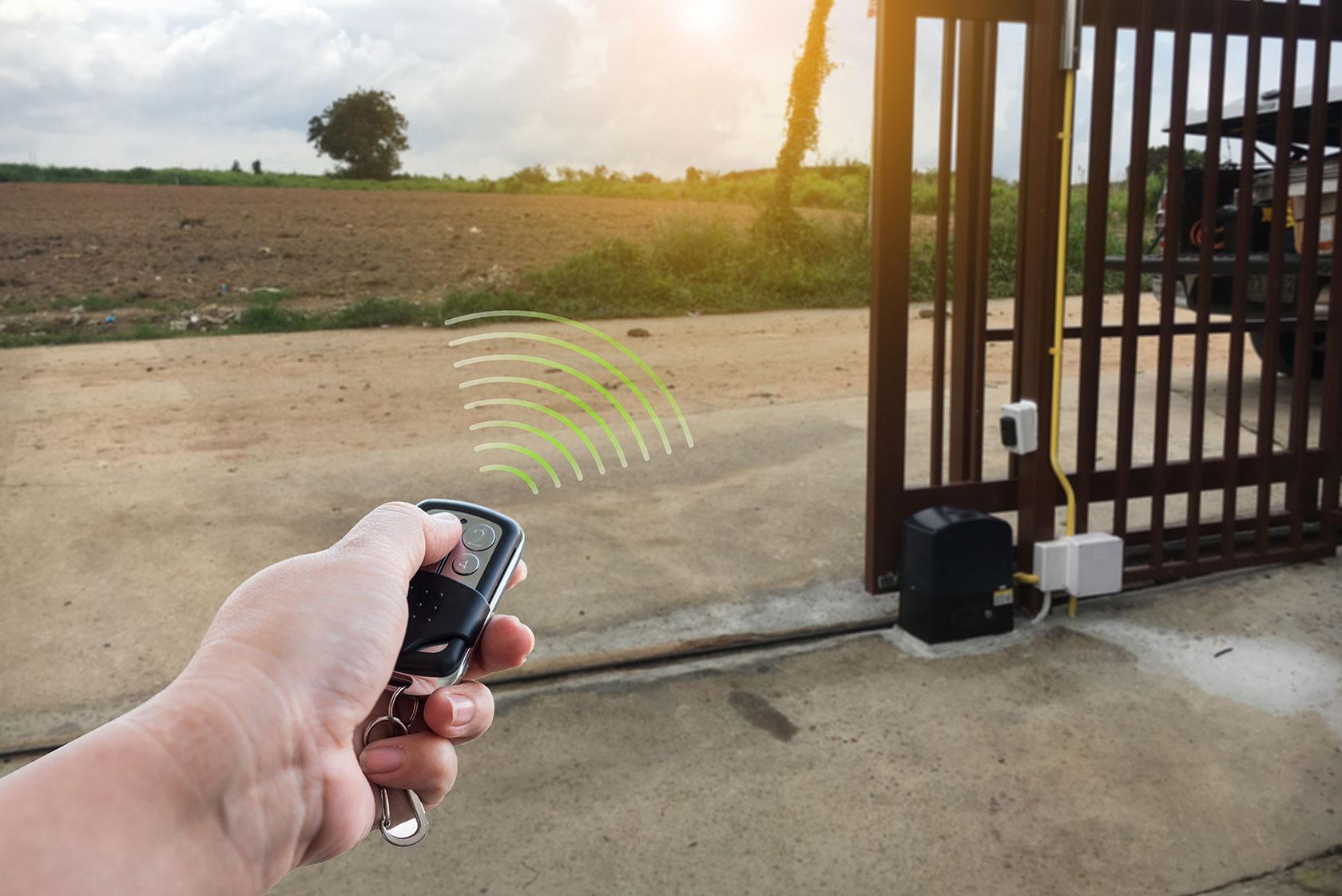 Electric Gates Remote Control