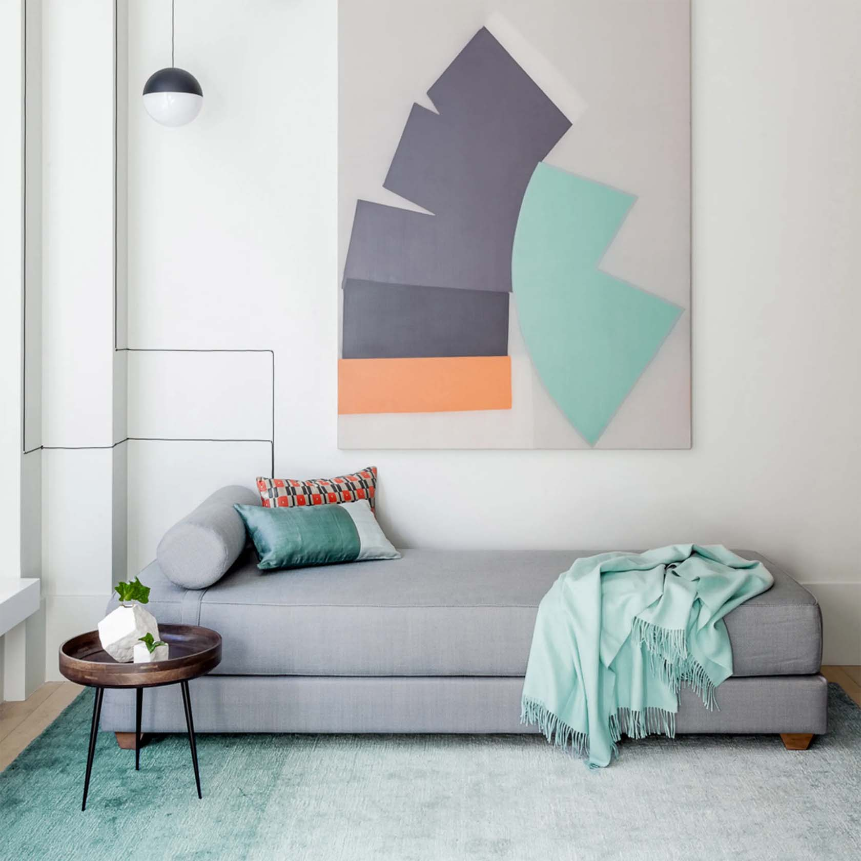 Interiors With Pastel Shades