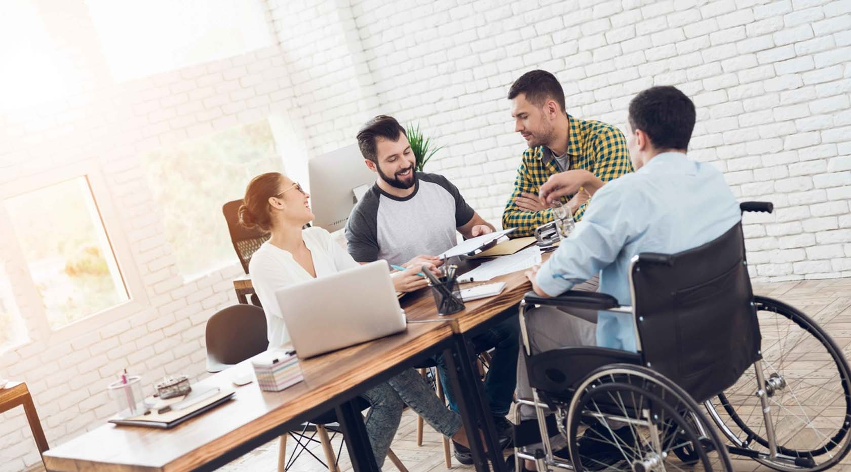 Office Design For Disable People