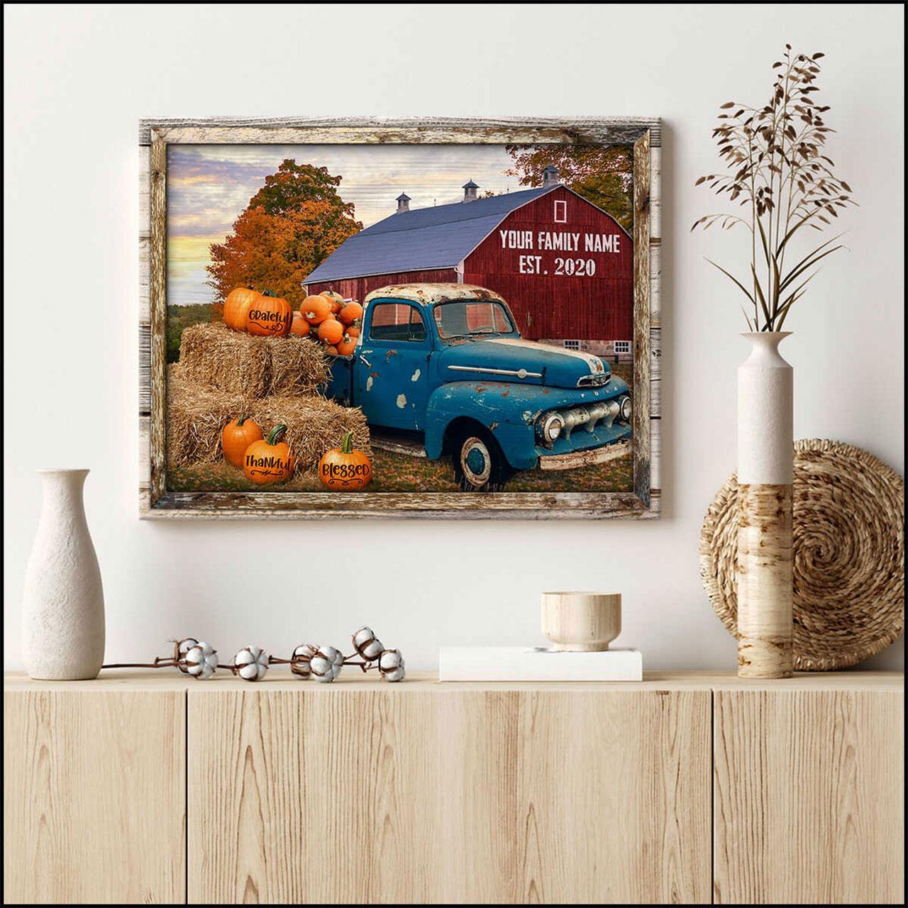 Farmhouse Canvas Wall Art