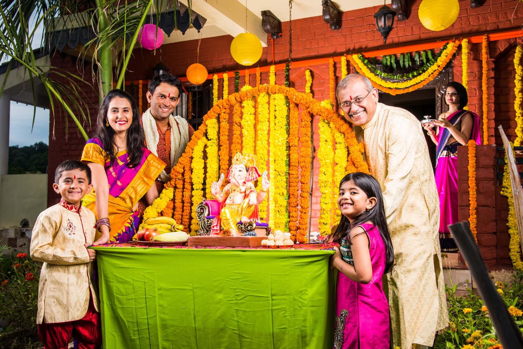 Ganpati Decoration Of 2021