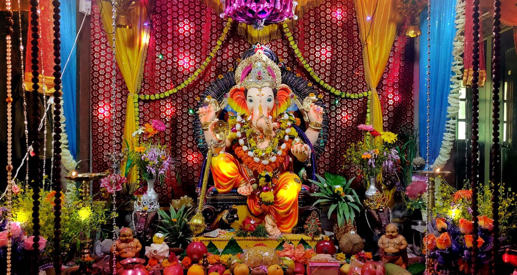Lord Ganesha Festival Decoration Ideas on Ganesh Chaturthi