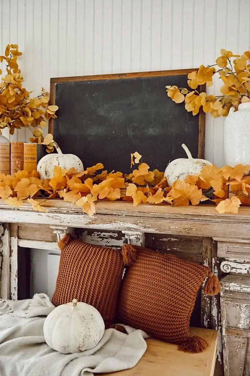 Orange - Yellow Fall Decorations