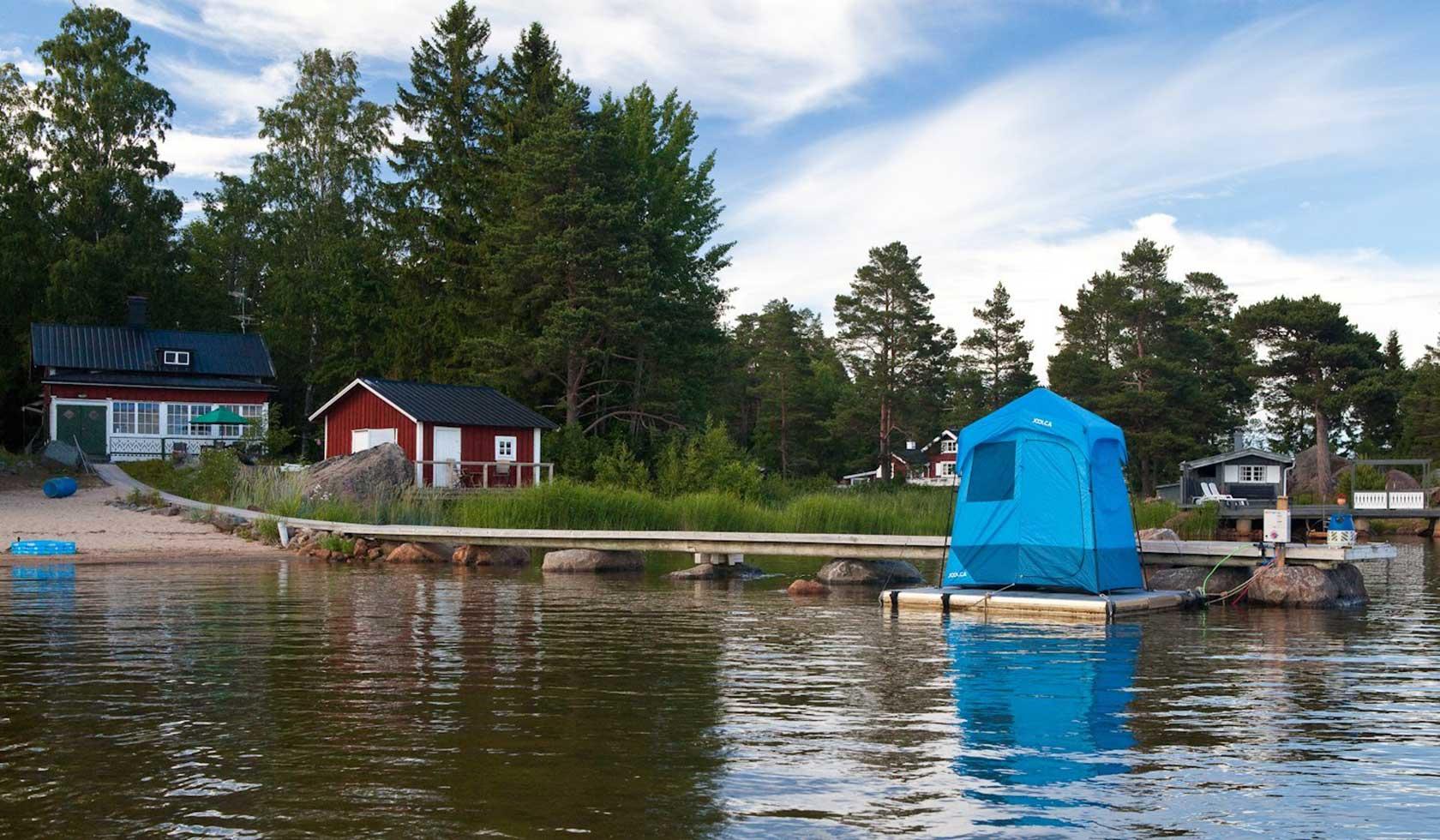 Portable Shower Camp