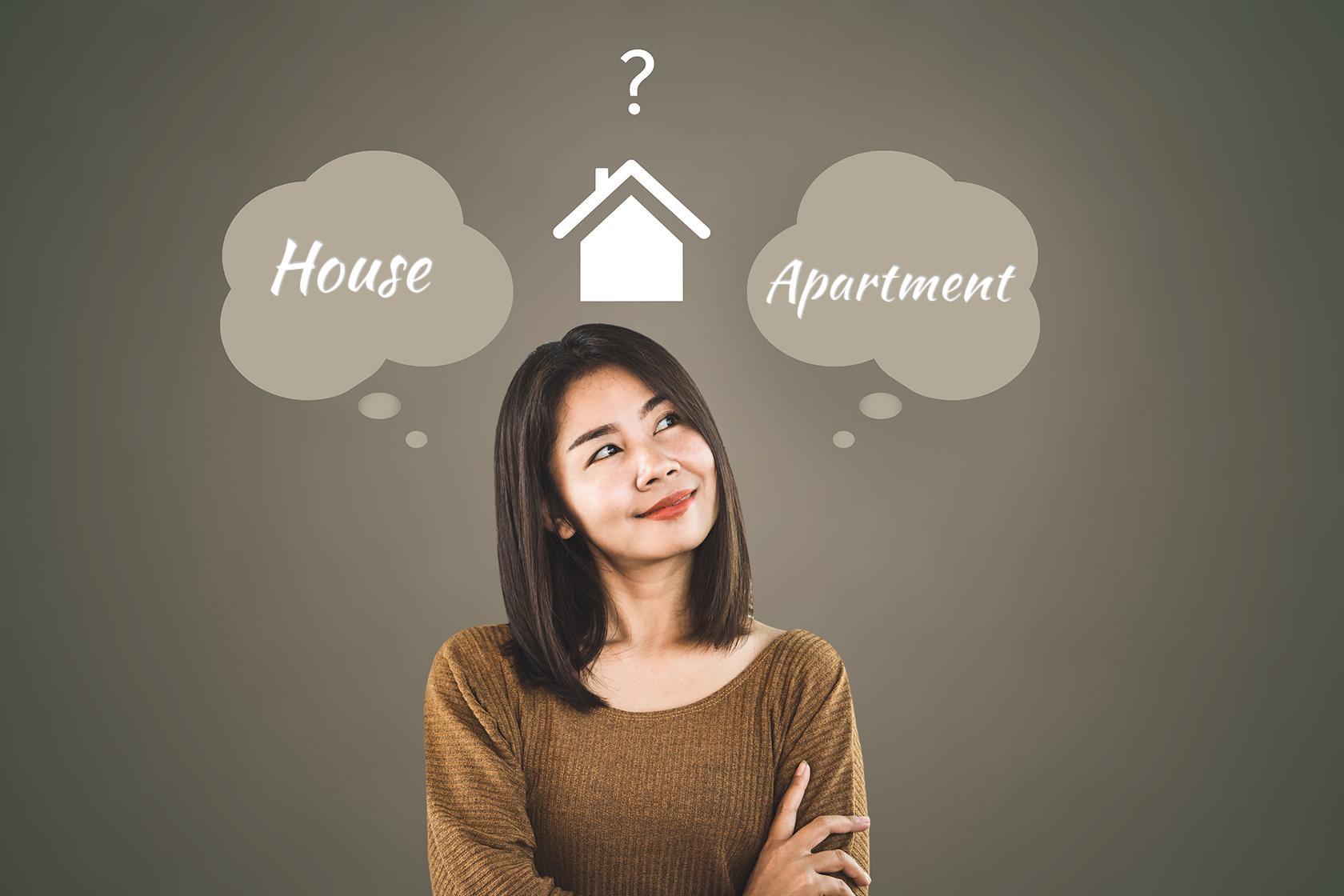 Houses Versus Apartments